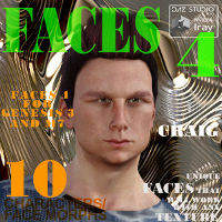 Faces 4 For Genesis 3 Male And Michael 7