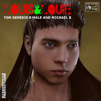 Louis And Louie For Genesis 8 Male And Michael 8
