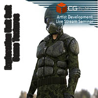 ArtDev DarkVoid Exploration Unit Suit Camo Textures