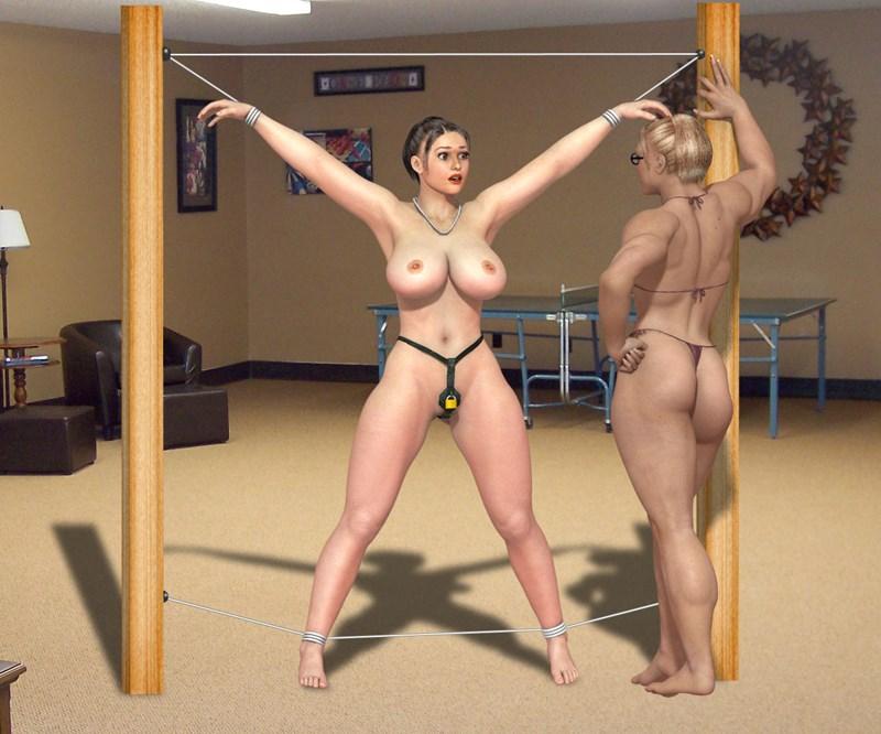 Like 3d erotic bondage art fat cock